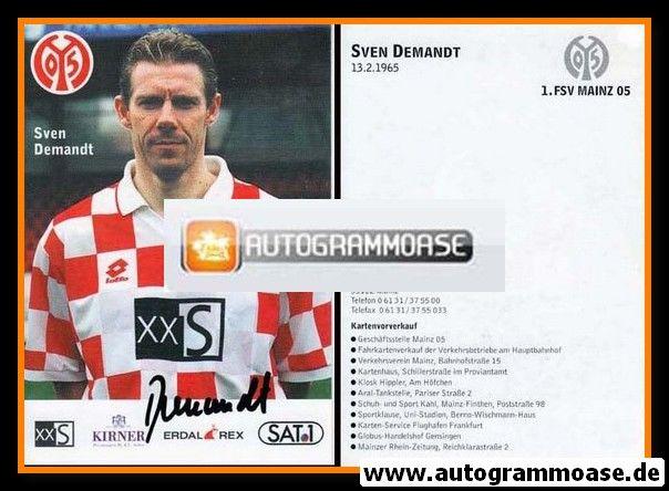 Autogramm Fussball   FSV Mainz 05   1996   Sven DEMANDT