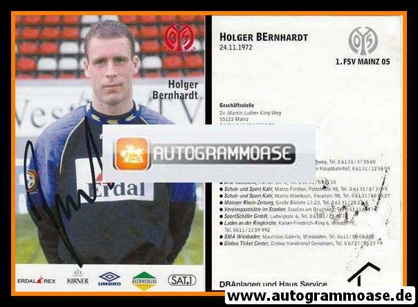 Autogramm Fussball | FSV Mainz 05 | 1997 | Holger BERNHARDT