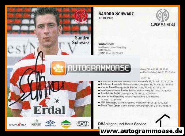 Autogramm Fussball | FSV Mainz 05 | 1997 | Sandro SCHWARZ