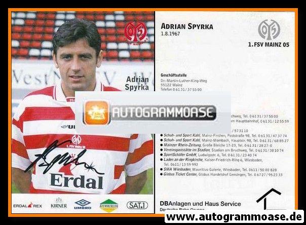 Autogramm Fussball | FSV Mainz 05 | 1997 | Adrian SPYRKA