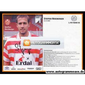 Autogramm Fussball | FSV Mainz 05 | 1998 | Steffen HERZBERGER