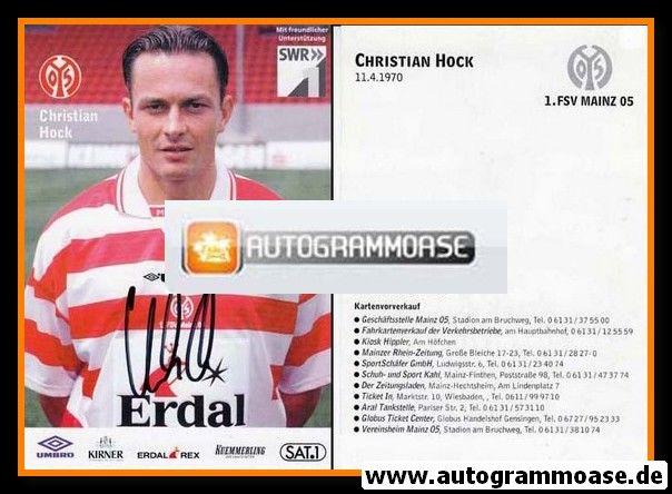Autogramm Fussball | FSV Mainz 05 | 1998 | Christian HOCK