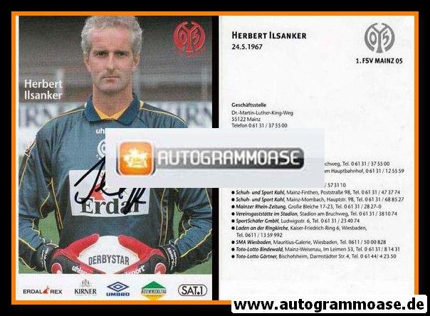 Autogramm Fussball   FSV Mainz 05   1998   Herbert ILSANKER