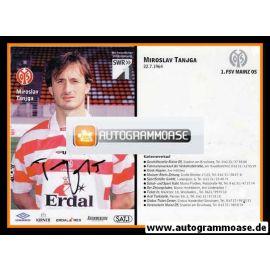 Autogramm Fussball   FSV Mainz 05   1998   Miroslav TANJGA