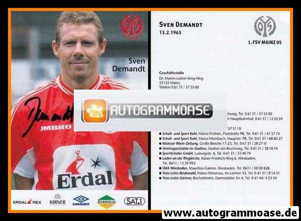 Autogramm Fussball | FSV Mainz 05 | 1999 | Sven DEMANDT
