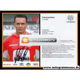Autogramm Fussball | FSV Mainz 05 | 1999 | Christian HOCK