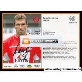 Autogramm Fussball | FSV Mainz 05 | 1999 | Peter NEUSTÄDTER