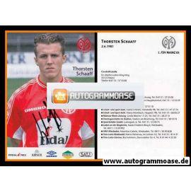 Autogramm Fussball | FSV Mainz 05 | 1999 | Thorsten SCHAAFF