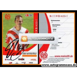 Autogramm Fussball   FSV Mainz 05   2006   Nassim BANOUAS