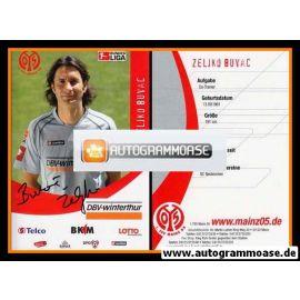 Autogramm Fussball | FSV Mainz 05 | 2006 | Zeljko BUVAC