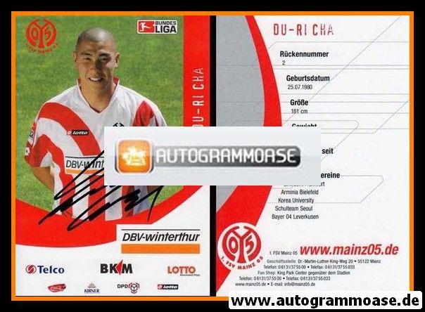 Autogramm Fussball | FSV Mainz 05 | 2006 | Du-Ri CHA