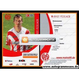 Autogramm Fussball | FSV Mainz 05 | 2006 | Markus FEULNER