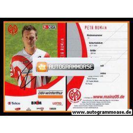 Autogramm Fussball | FSV Mainz 05 | 2006 | Petr RUMAN