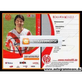Autogramm Fussball | FSV Mainz 05 | 2006 | Benjamin WEIGELT