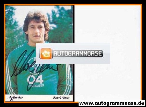 Autogramm Fussball | Bayer Leverkusen | 1981 | Uwe GREINER