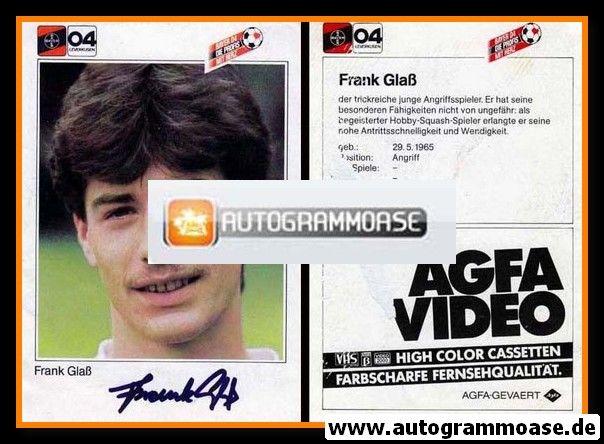 Autogramm Fussball | Bayer Leverkusen | 1983 | Frank GLASS
