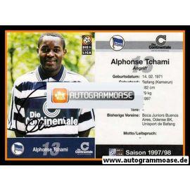 Autogramm Fussball | Hertha BSC Berlin | 1997 | Alphonse TCHAMI