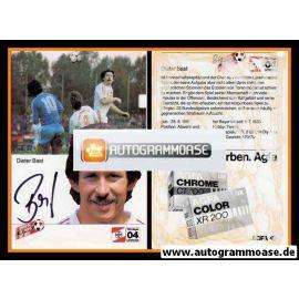 Autogramm Fussball   Bayer Leverkusen   1984   Dieter BAST