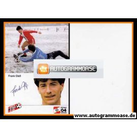 Autogramm Fussball | Bayer Leverkusen | 1984 | Frank GLASS