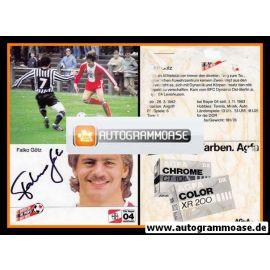 Autogramm Fussball | Bayer Leverkusen | 1984 | Falko GÖTZ (Spielszene)