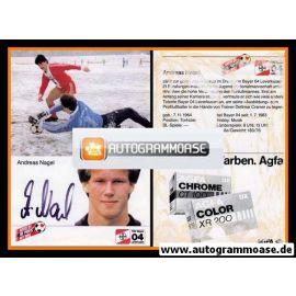 Autogramm Fussball | Bayer Leverkusen | 1984 | Andreas NAGEL