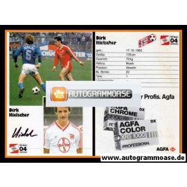 Autogramm Fussball | Bayer Leverkusen | 1986 | Dirk HIELSCHER