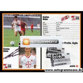 Autogramm Fussball | Bayer Leverkusen | 1986 | Stefan KOHN
