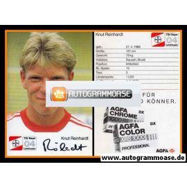 Autogramm Fussball | Bayer Leverkusen | 1987 | Knut REINHARDT