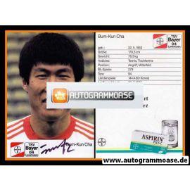 Autogramm Fussball | Bayer Leverkusen | 1988 | Bum Kun CHA