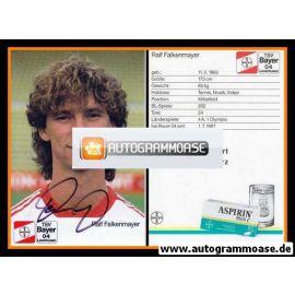 Autogramm Fussball | Bayer Leverkusen | 1988 | Ralf FALKENMAYER