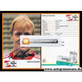 Autogramm Fussball | Bayer Leverkusen | 1988 | Marcus FEINBIER