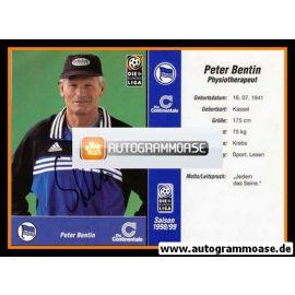 Autogramm Fussball | Hertha BSC Berlin | 1998 | Peter BENTIN