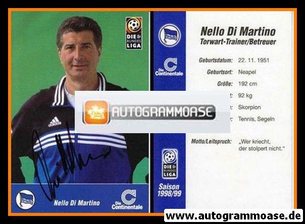 Autogramm Fussball | Hertha BSC Berlin | 1998 | Nello DI MARTINO