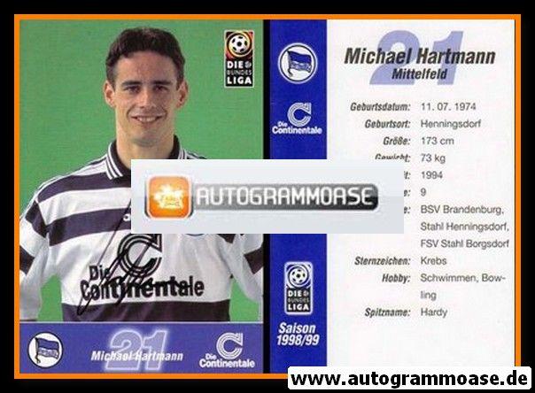 Autogramm Fussball | Hertha BSC Berlin | 1998 | Michael HARTMANN