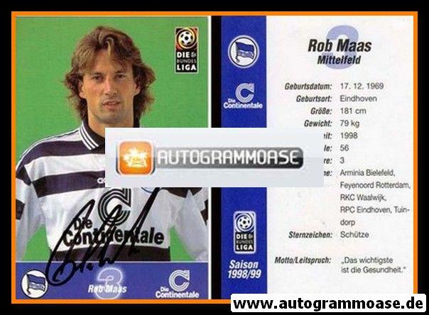 Autogramm Fussball | Hertha BSC Berlin | 1998 | Rob MAAS