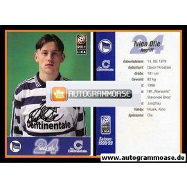 Autogramm Fussball   Hertha BSC Berlin   1998   Ivica OLIC