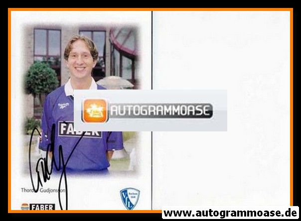 Autogramm Fussball | VfL Bochum | 1996 | Thordur GUDJONSSON