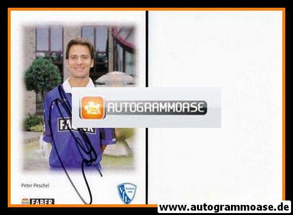 Autogramm Fussball | VfL Bochum | 1996 | Peter PESCHEL
