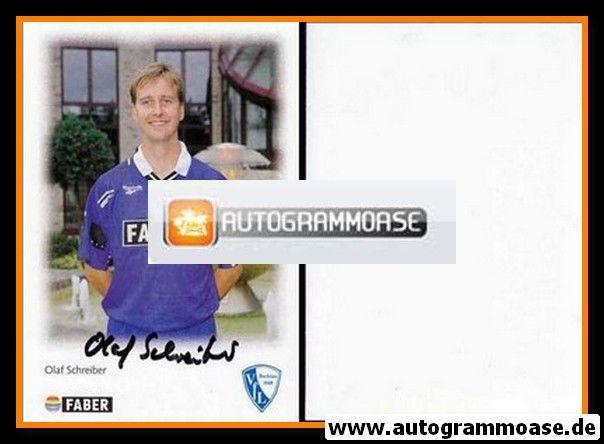 Autogramm Fussball   VfL Bochum   1996   Olaf SCHREIBER