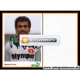 Autogramm Fussball   SV Werder Bremen   1983   Rigobert GRUBER