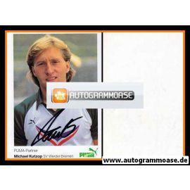 Autogramm Fussball | SV Werder Bremen | 1984 | Michael KUTZOP