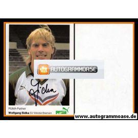 Autogramm Fussball   SV Werder Bremen   1984   Wolfgang SIDKA
