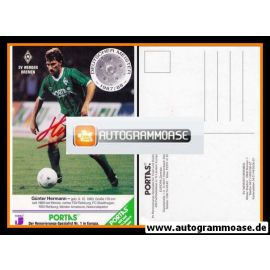 Autogramm Fussball | SV Werder Bremen | 1988 | Günter HERMANN