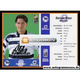 Autogramm Fussball | Hertha BSC Berlin | 1998 | Dariusz WOSZ