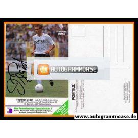 Autogramm Fussball   SV Werder Bremen   1991   Thorsten LEGAT