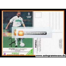 Autogramm Fussball   SV Werder Bremen   1990   Jonny OTTEN