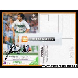 Autogramm Fussball | SV Werder Bremen | 1990 | Gunnar SAUER