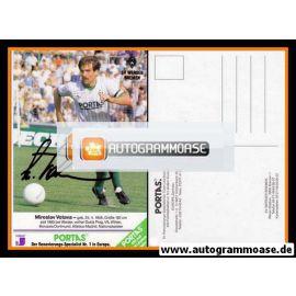 Autogramm Fussball | SV Werder Bremen | 1990 | Miroslav VOTAVA