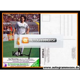 Autogramm Fussball   SV Werder Bremen   1991   Kay WENSCHLAG