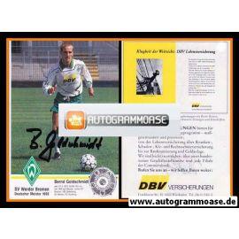 Autogramm Fussball | SV Werder Bremen | 1993 NAV | Bernd GOLDSCHMIDT